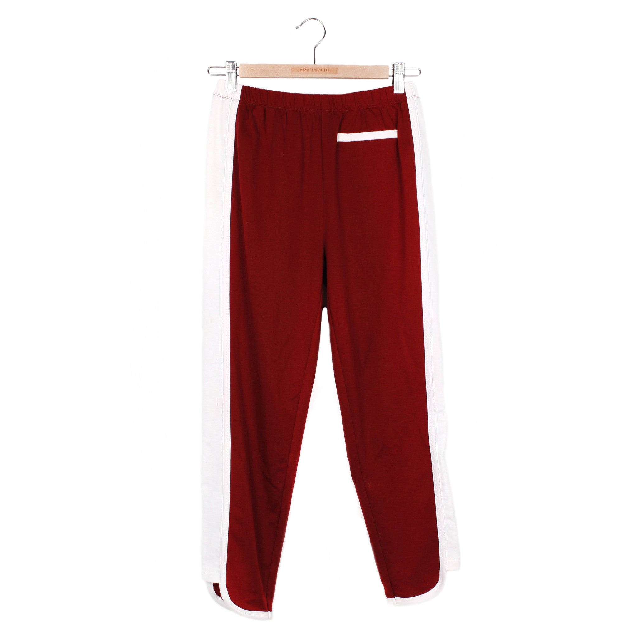 ROLLER DERBY SWEATS - MAROON / VINTAGE WHITE / SMALL - CAMP Collection - 1