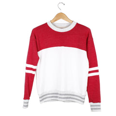 Cooper Sweatshirt (View More Colors) - SMALL / VINTAGE WHITE / HEATHER RED - CAMP Collection - 2