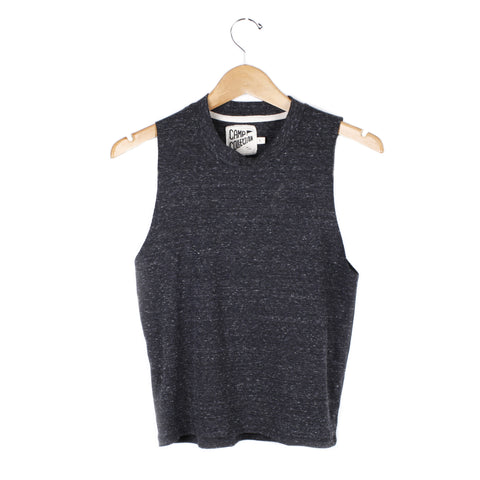 Muscle Tee - SMALL / CHARCOAL - CAMP Collection - 1