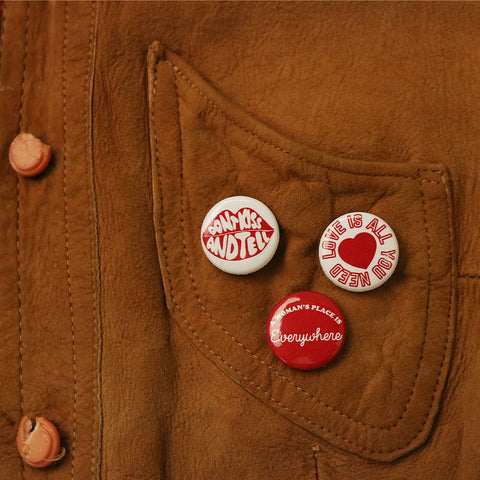 70s WOMEN PIN PACK -  - CAMP Collection - 2