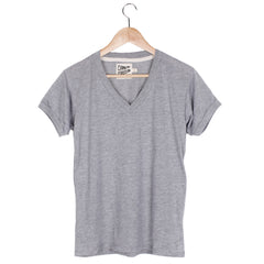 V-Neck Ringer Tee (view more colors) - SMALL / HEATHER GREY / HEATHER GREY - CAMP Collection - 2