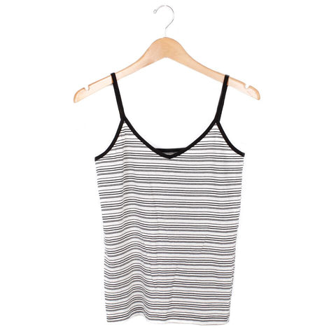 Liv Cami - SMALL / WHITE / BLACK - CAMP Collection - 1