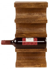Load image into Gallery viewer, Wall Mounted Wooden Wine Rack - Rustic-Furniture.co.uk