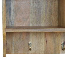 Load image into Gallery viewer, Wall Mounted Coat Rack with 3 Shelves - Rustic-Furniture.co.uk