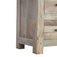Load image into Gallery viewer, Glazed 4 Drawer 2 Door Media Unit - Rustic-Furniture.co.uk