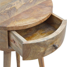 Load image into Gallery viewer, Nordic Circular Shaped Bedside - Rustic-Furniture.co.uk