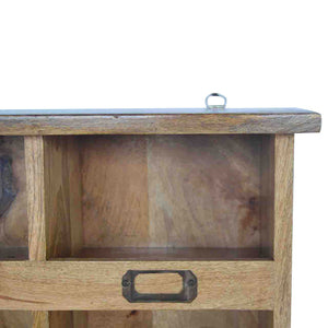 Hook & Hide Wall Mounted Unit - Rustic-Furniture.co.uk