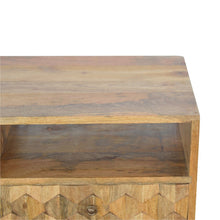 Load image into Gallery viewer, Pineapple Carved Media Unit - Rustic-Furniture.co.uk