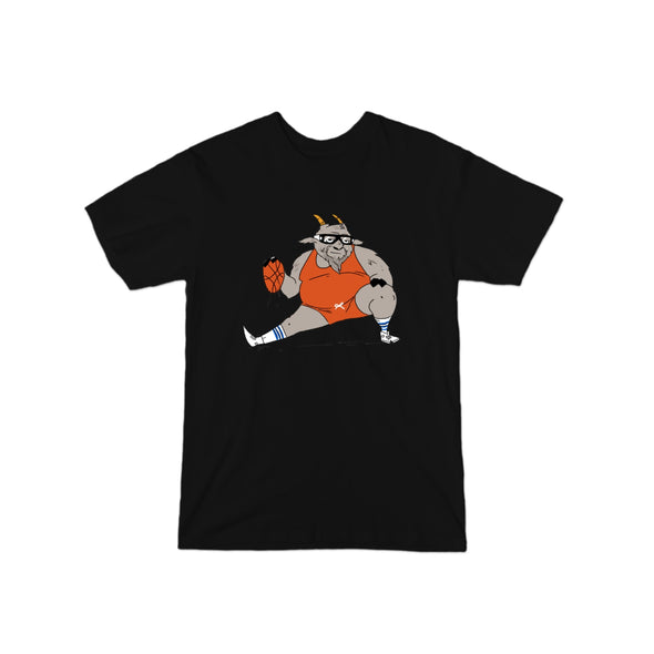 "Cream Biggums ""GOAT"" T-Shirt"