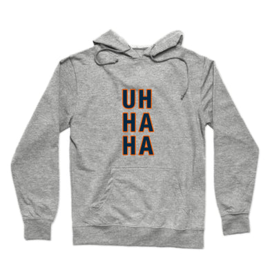 Uh Ha Ha (White Chicago) Hoodie
