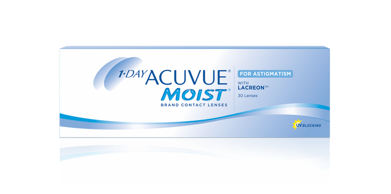 1-DAY ACUVUE® MOIST® for Astigmatism (30 pcs)