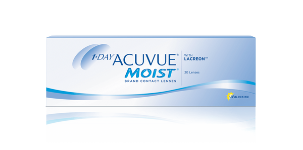 1-DAY ACUVUE® MOIST® (30 pcs)