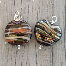 Load image into Gallery viewer, Silver Sunset pendants