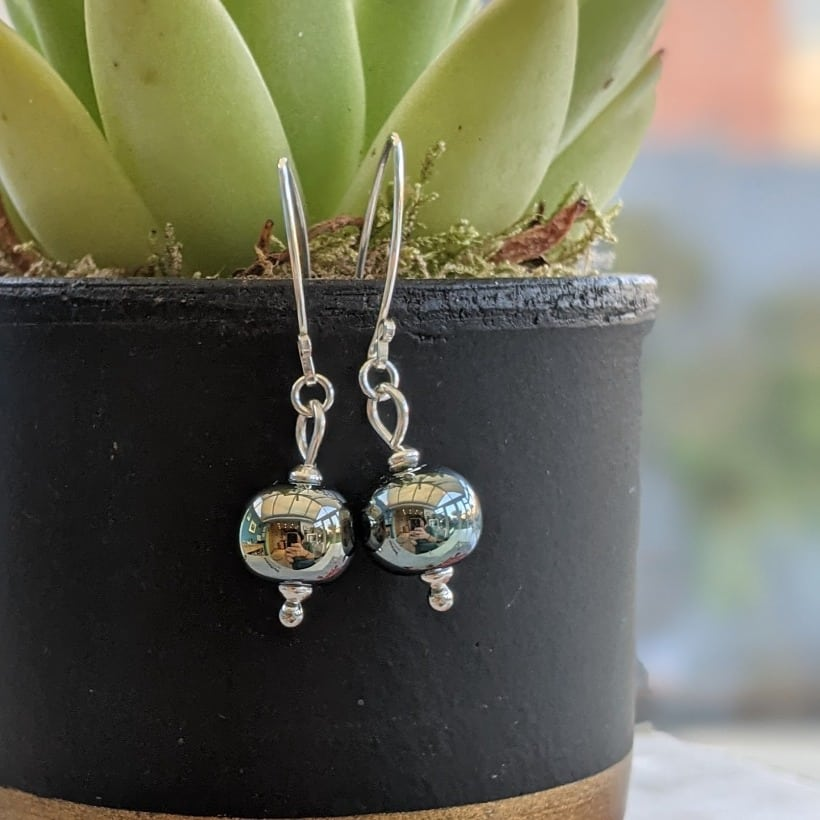 Lustre Ball Earrings
