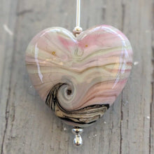Load image into Gallery viewer, Sea Thrift Heart Pendant