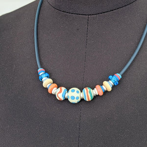 Springtime Tube Necklace no 4