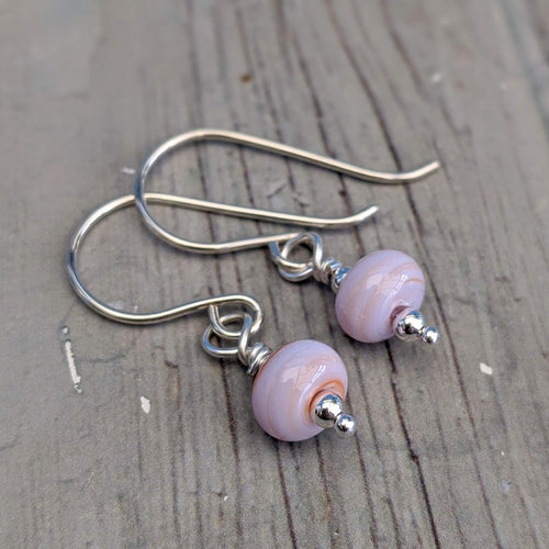 Seashell Tiny Bead Earrings