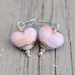 Seashell Heart Earrings