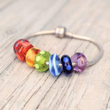 Load image into Gallery viewer, XL Rainbow Big Hole Beads