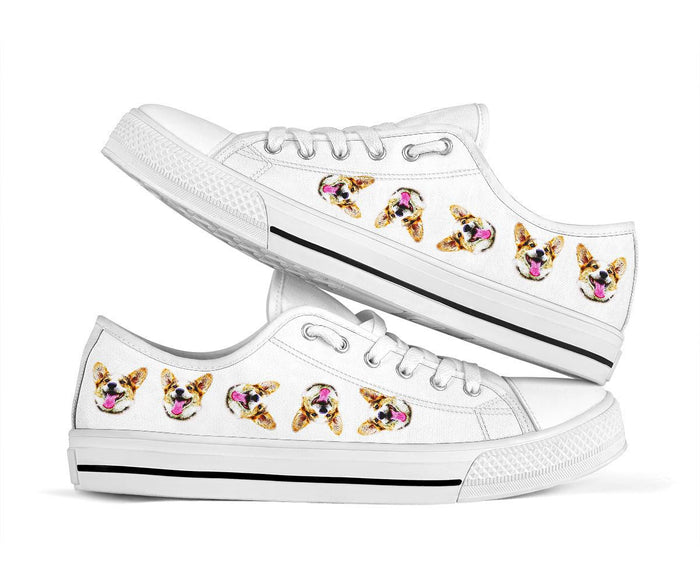 Multi Dog Head Shoes - Gifts for Dog Lovers