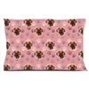 Pink Paw Print Dog Bed - Gifts for Dog Lovers