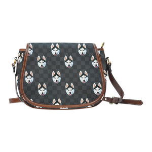 Graphite Saddle Bag - Gifts for Dog Lovers