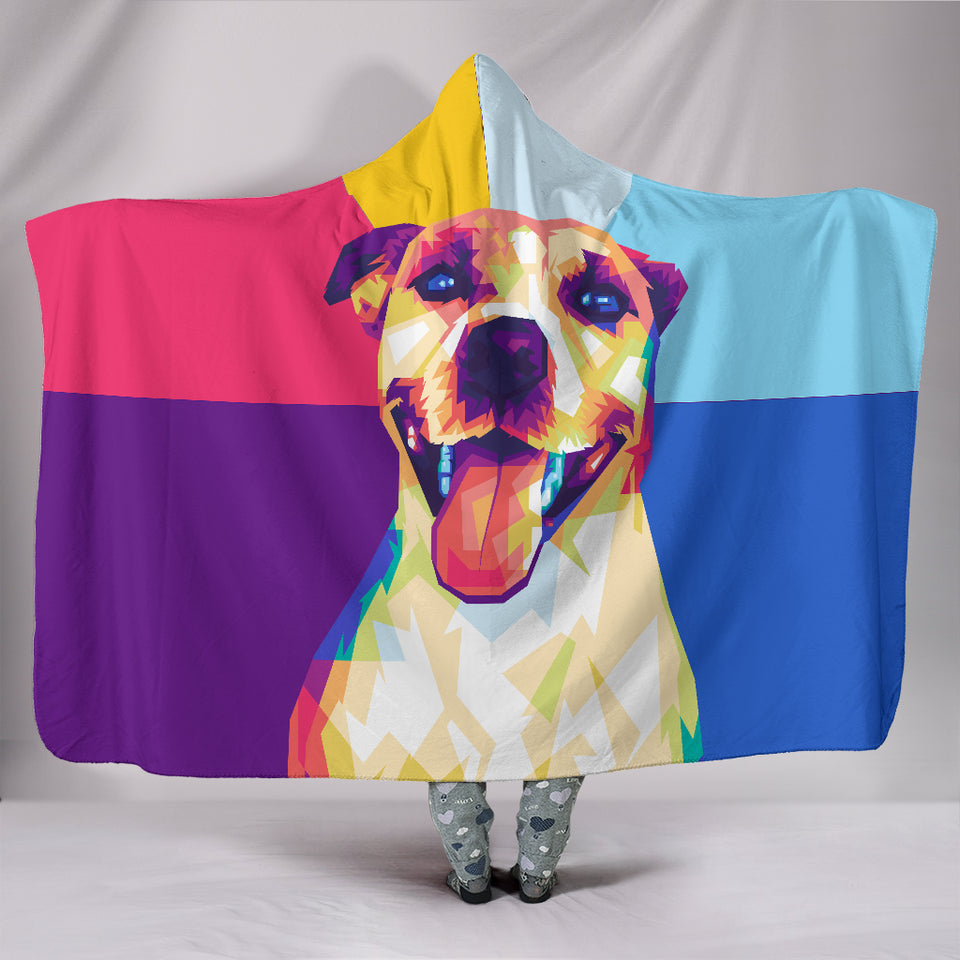 WPAP Hooded Blanket