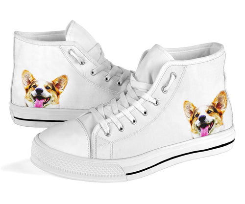 Dog Head High Top Shoes - Gifts for Dog Lovers