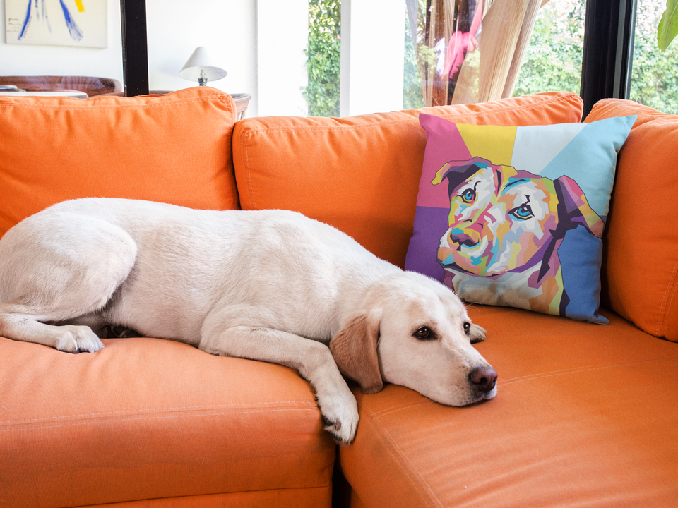 WPAP Pop Art Pet Pillow