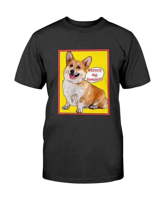 Custom Comic Print Pet Shirt - Gifts for Dog Lovers