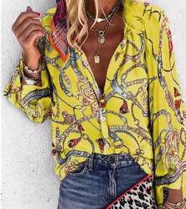 Colorful Fall Blouses