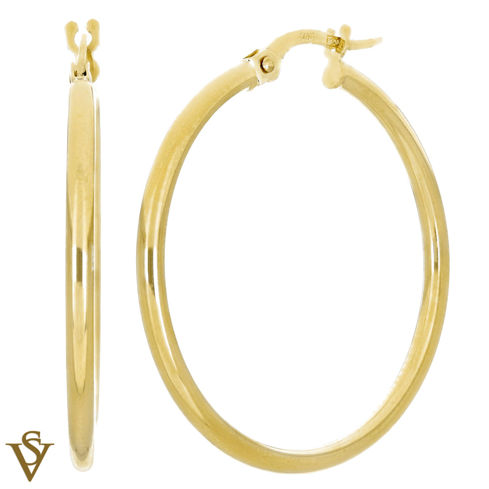 Christian Van Sant Italian 14k Yellow Gold Earrings - CVE9H63
