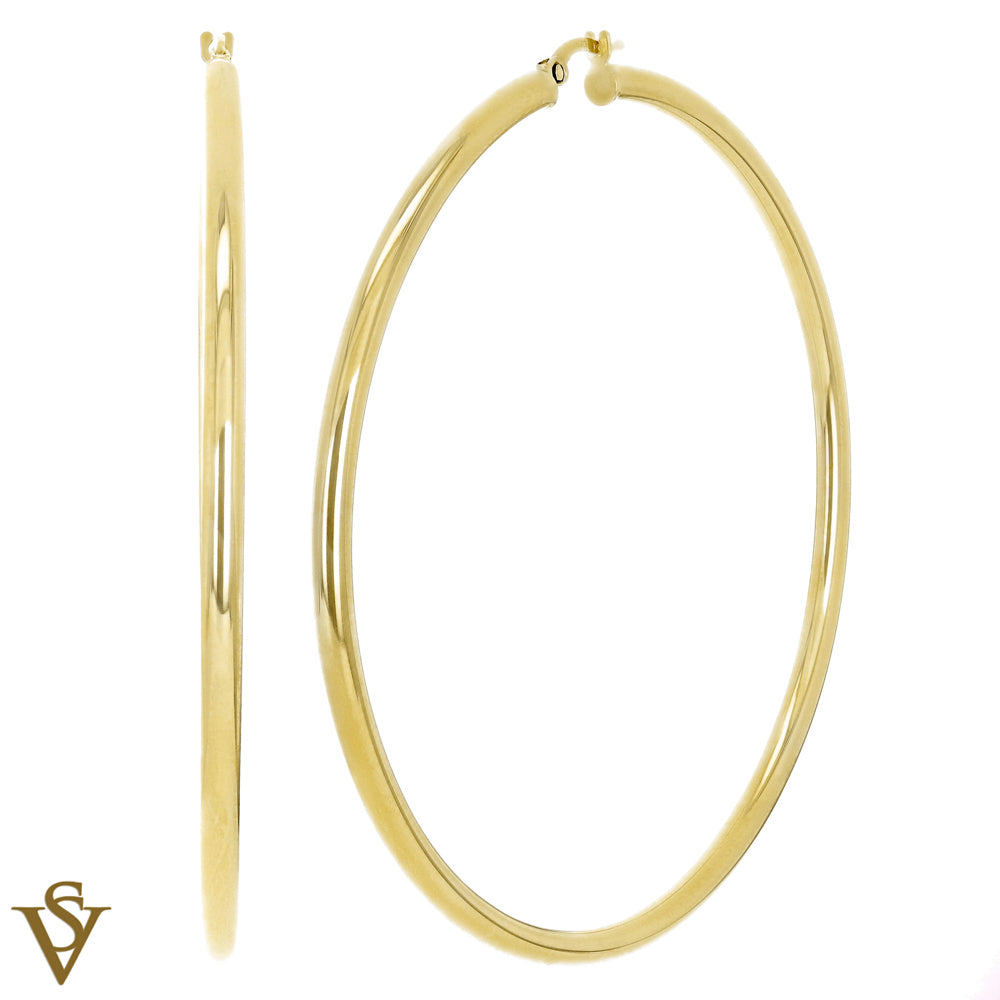 Christian Van Sant Italian 14k Yellow Gold Earrings - CVE9H74