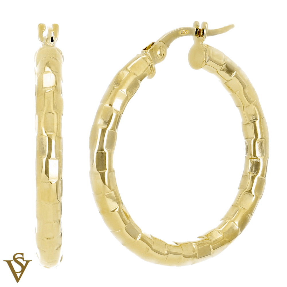 Christian Van Sant Italian 14k Yellow Gold Earrings - CVE9H90