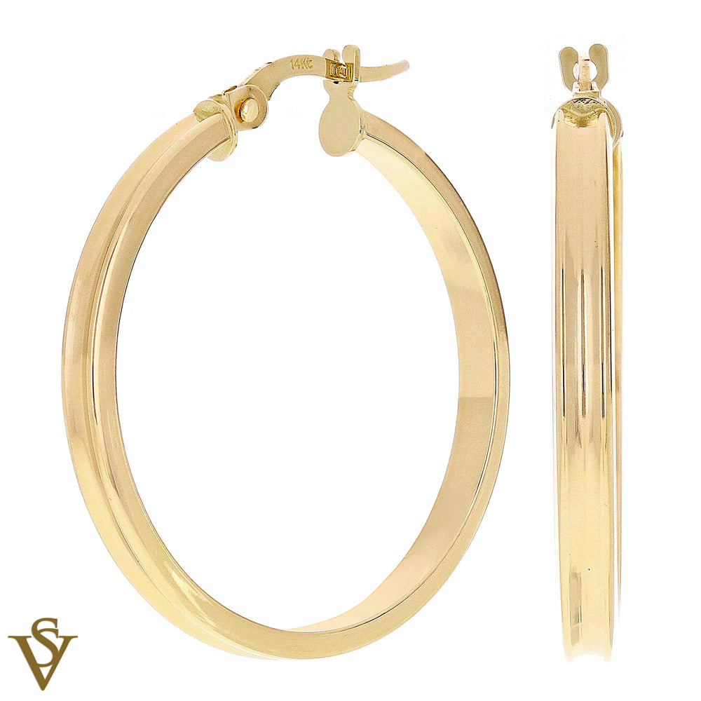 Christian Van Sant Italian 14k Yellow Gold Earrings - CVE9LRK