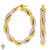 Christian Van Sant Italian 14k Yellow & White Gold Earrings - CVE9LRR