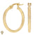 Christian Van Sant Italian 14k Yellow Gold Earrings - CVE9LRW