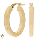 Christian Van Sant Italian 14k Yellow Gold Earrings - CVE9LSV