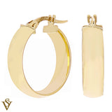 Christian Van Sant Italian 14k Yellow Gold Earrings - CVE9LSZ