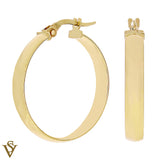 Christian Van Sant Italian 14k Yellow Gold Earrings - CVE9LTB