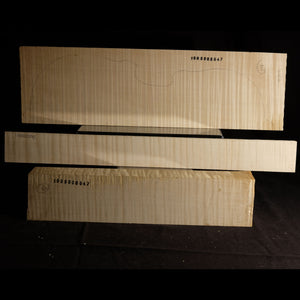 Violin back set (back, ribs, neck), #1000000047