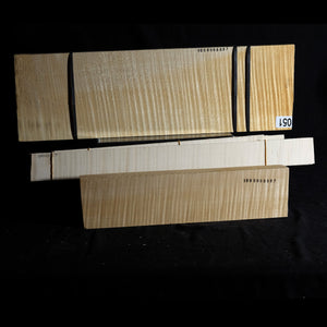 Violin/viola back set (back, ribs, neck), #1000000067