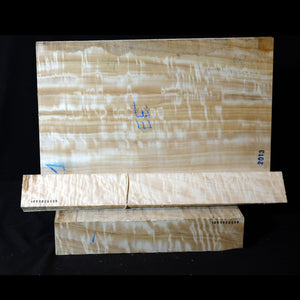 Lombary poplar - Viola back set (back, ribs, neck), #1000000096