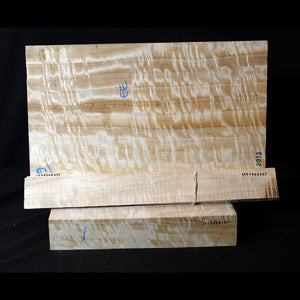 Lombary poplar - Viola back set (back, ribs, neck), #1000000097