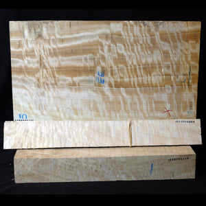 Lombary poplar - Viola back set (back, ribs, neck), #1000000099