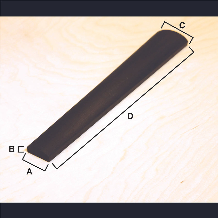 Cello Fingerboard (Master grade), for new construction