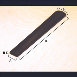 Viola Fingerboard (Master grade), for new construction
