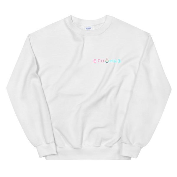 EthHub Full Logo Small Sweatshirt