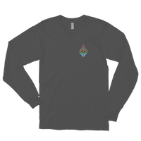 EthHub Small Logo Long Sleeve Shirt