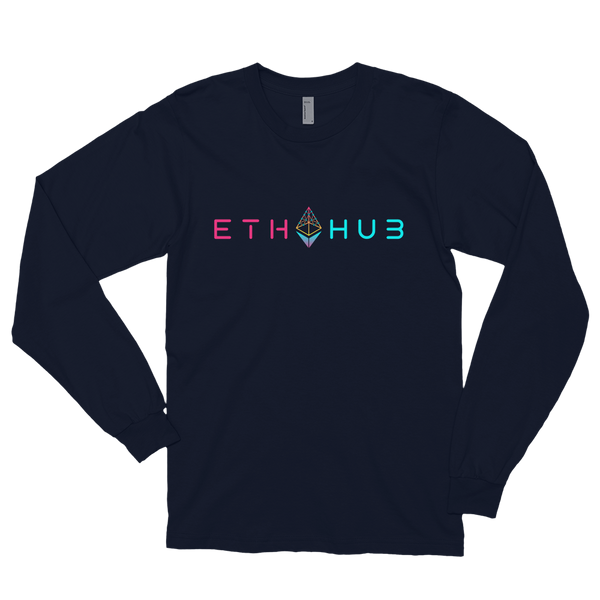 EthHub Full Logo Long Sleeve Shirt